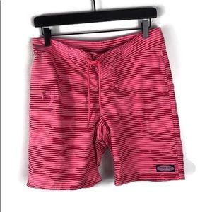 Vineyard Vines Striped Shark Board Shorts 🦈